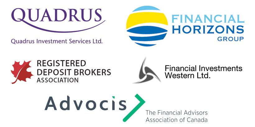 Partners and Memberships: Quadrus Investment Services Inc.; Financial Horizons Group; Registered Deposit Brokers Association; Financial Investments Western Ltd.; Advocis - The Financial Advisors Association of Canada